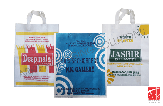 Nonwoven Gusset & Handle Flexo Printed Bags (up to 4 colors)
