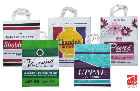 Nonwoven Loop Handle Flexo Printed Bags (up to 4 colors)